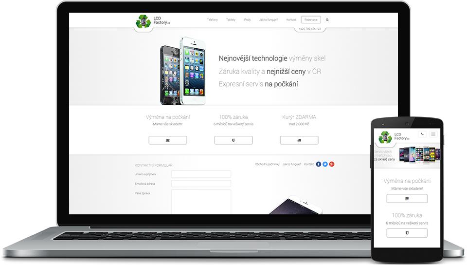 Nové webové stránky zdarma